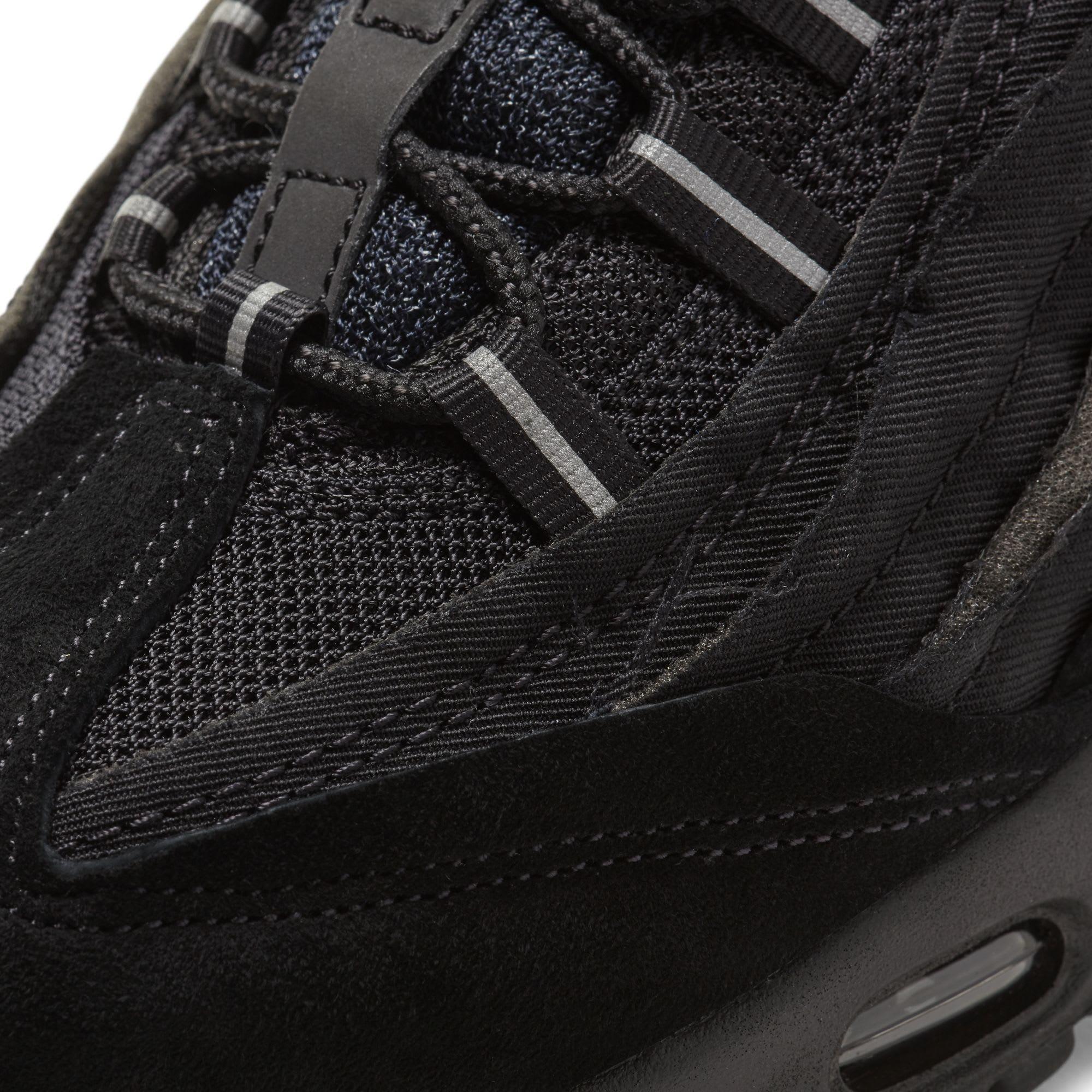 Comme des Garçons x Nike Air Max 95 'Triple Black' (Detail)