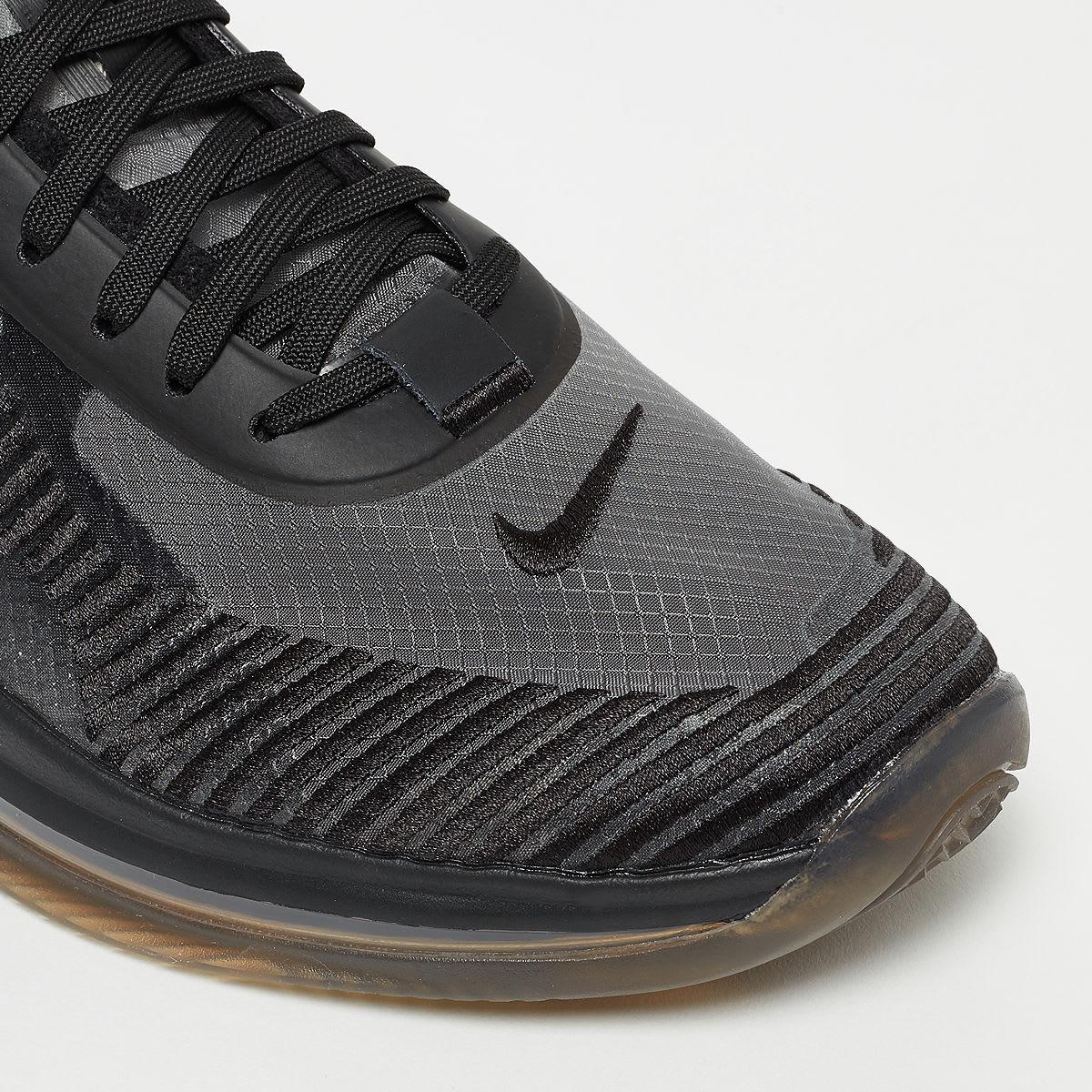 John Elliott x Nike LeBron Icon QS 'Black/Gum' AQ0114-001 (Toe)