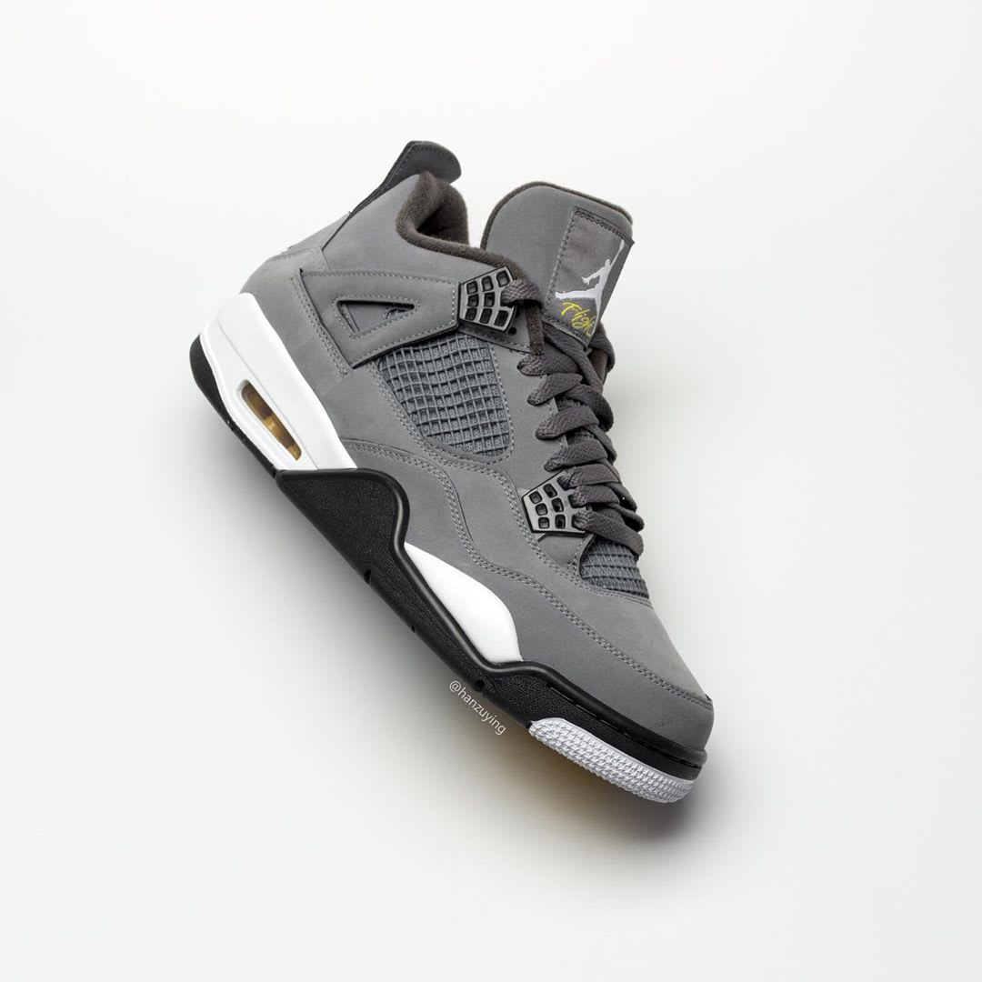 Air Jordan 4 IV Cool Grey 2019 Release Date 308497-007 Side
