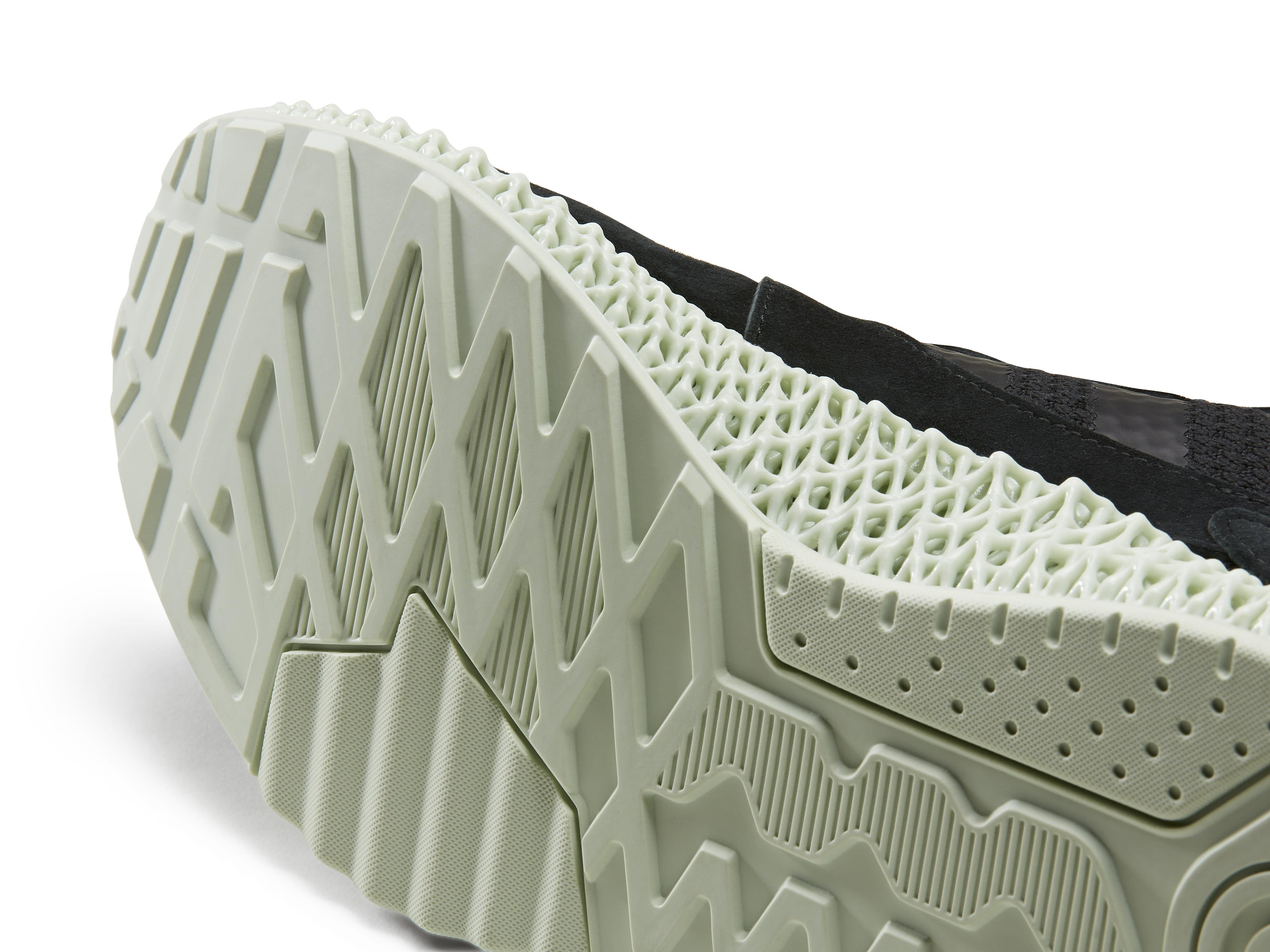 Hender Scheme x Adidas ZX 4000 4D F36147 (Outsole)