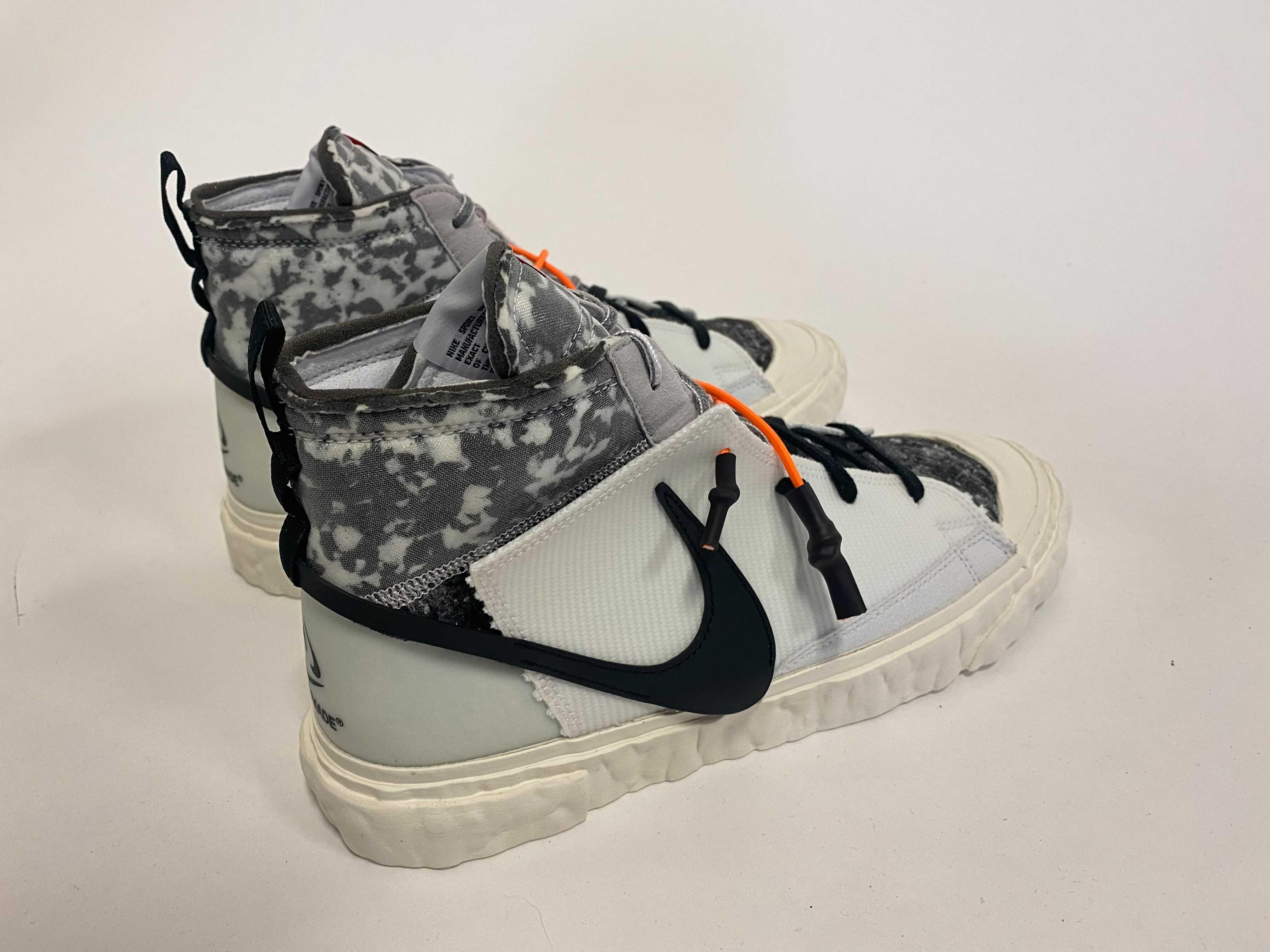 Readymade x Nike Blazer Mid 'White' (Lateral)