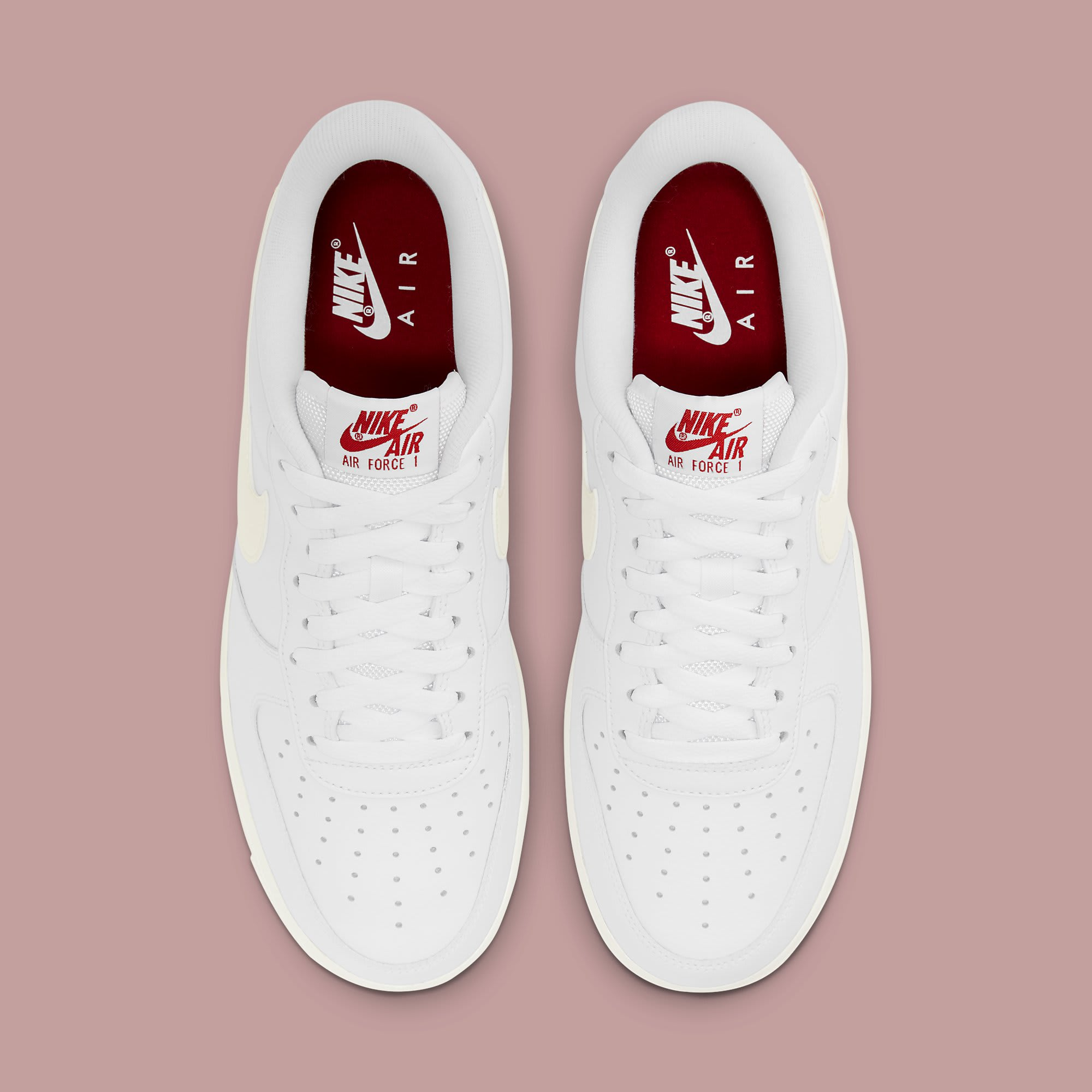 Nike Air Force 1 Low Valentine's Day 2021 Release Date DD7117-100 Top