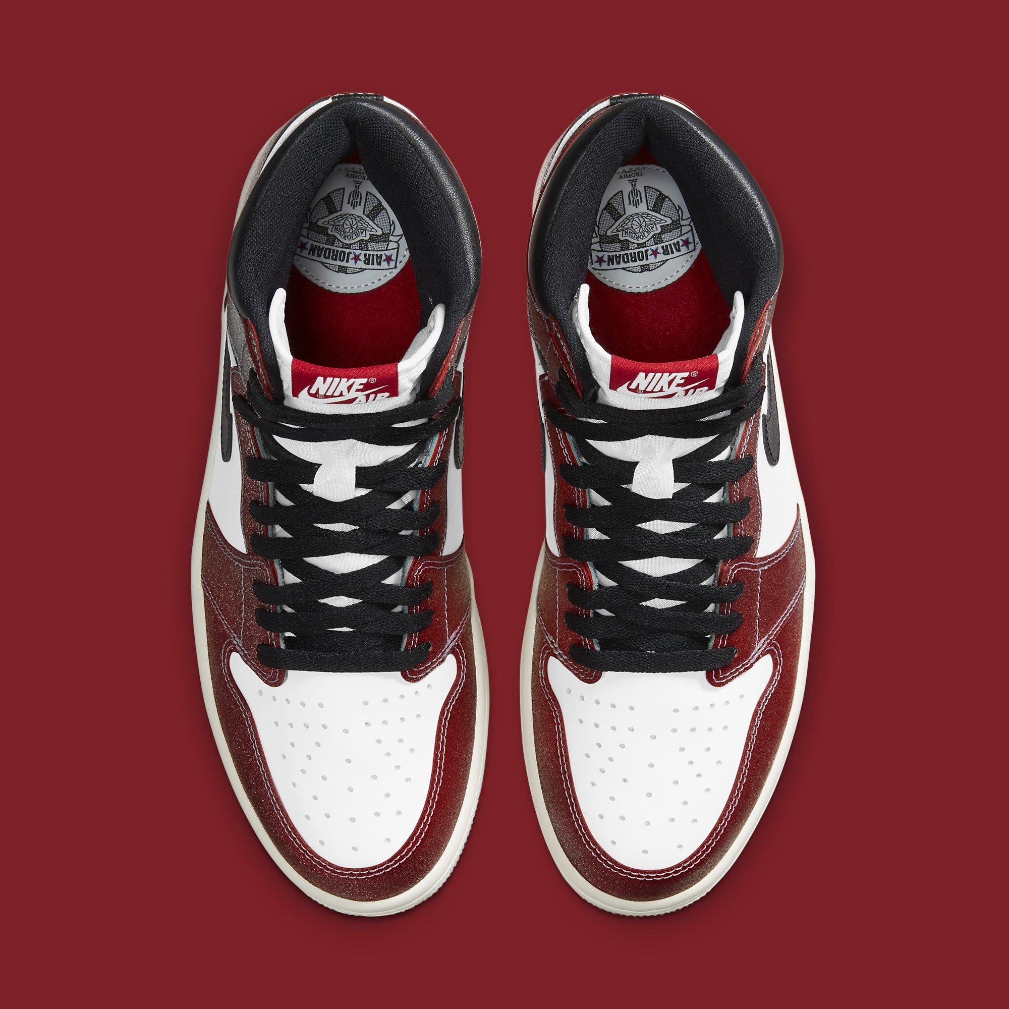 Trophy Room x Air Jordan 1 Release Date DA2728-100 Top