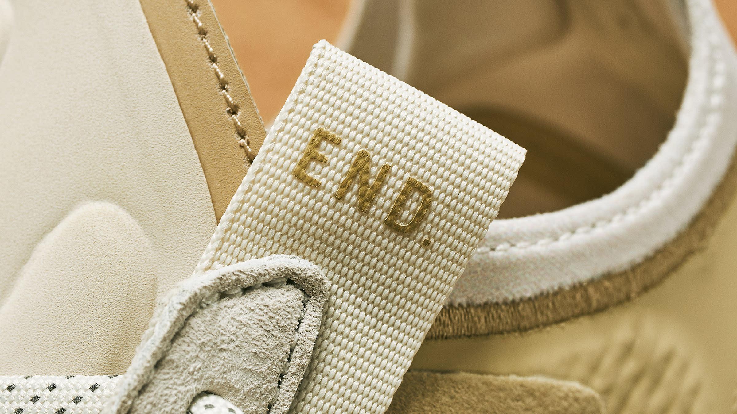 End. Clothing x Adidas EVO 4D 'Dune' Tongue
