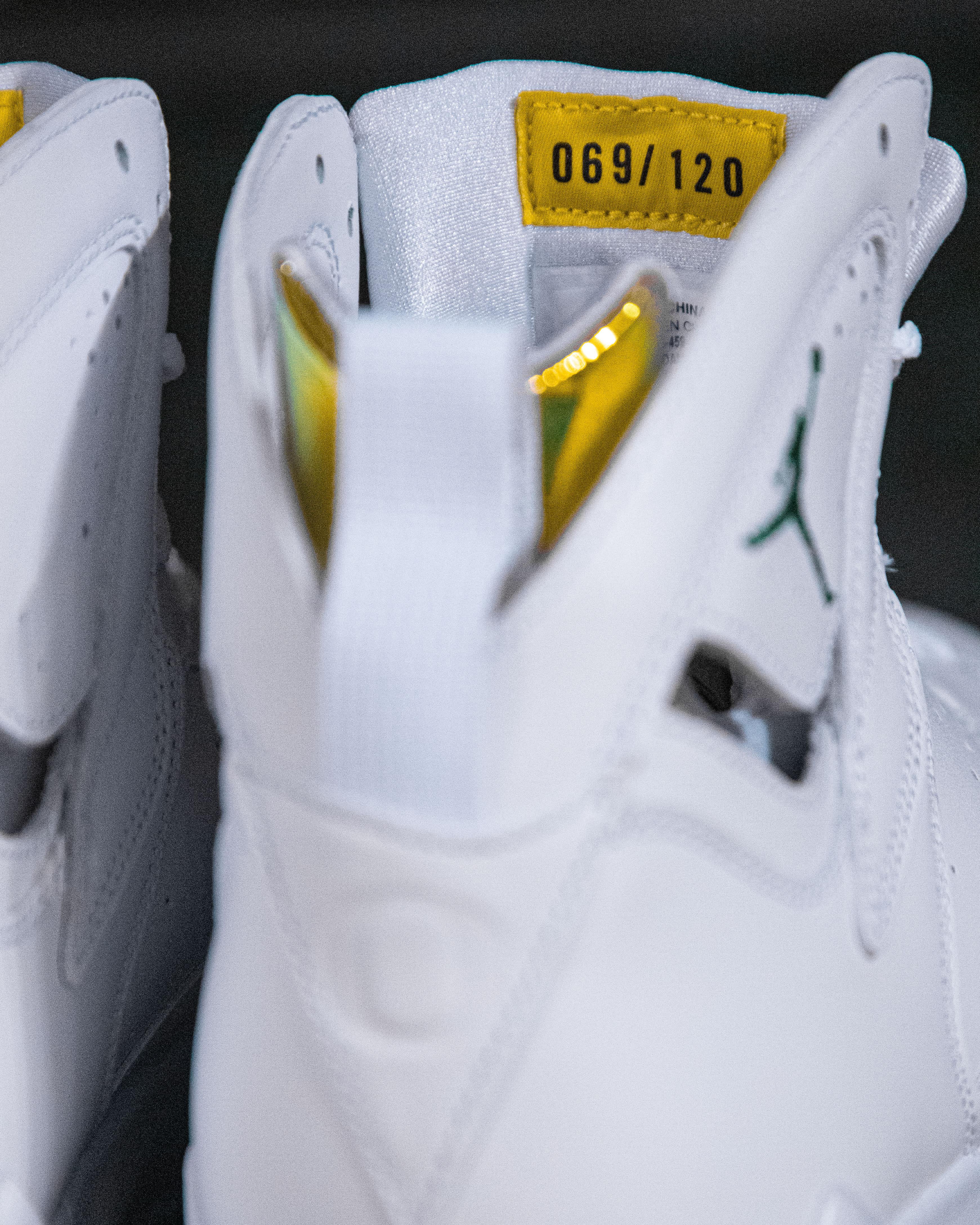 Air Jordan 7 Oregon Women's PE (Numbering)
