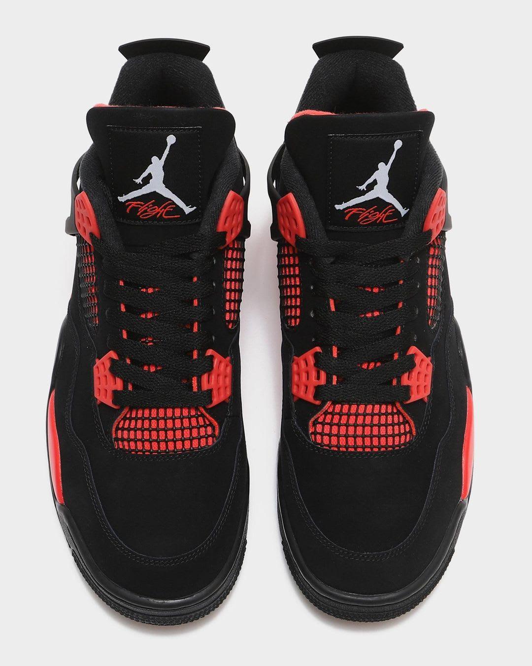 Air Jordan 4 Retro 'Red Thunder' CT8527-016 Front
