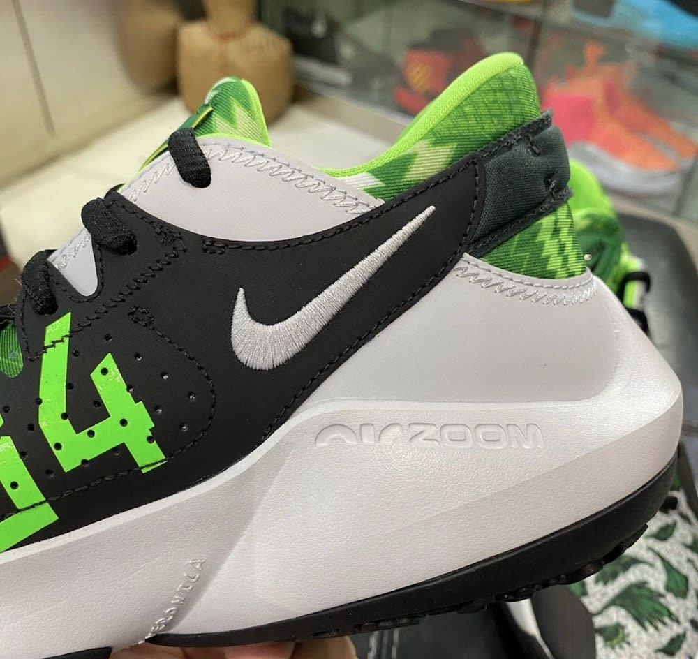 Nike Zoom Freak 2 White Green Release Date DA0907-002 Medial Close