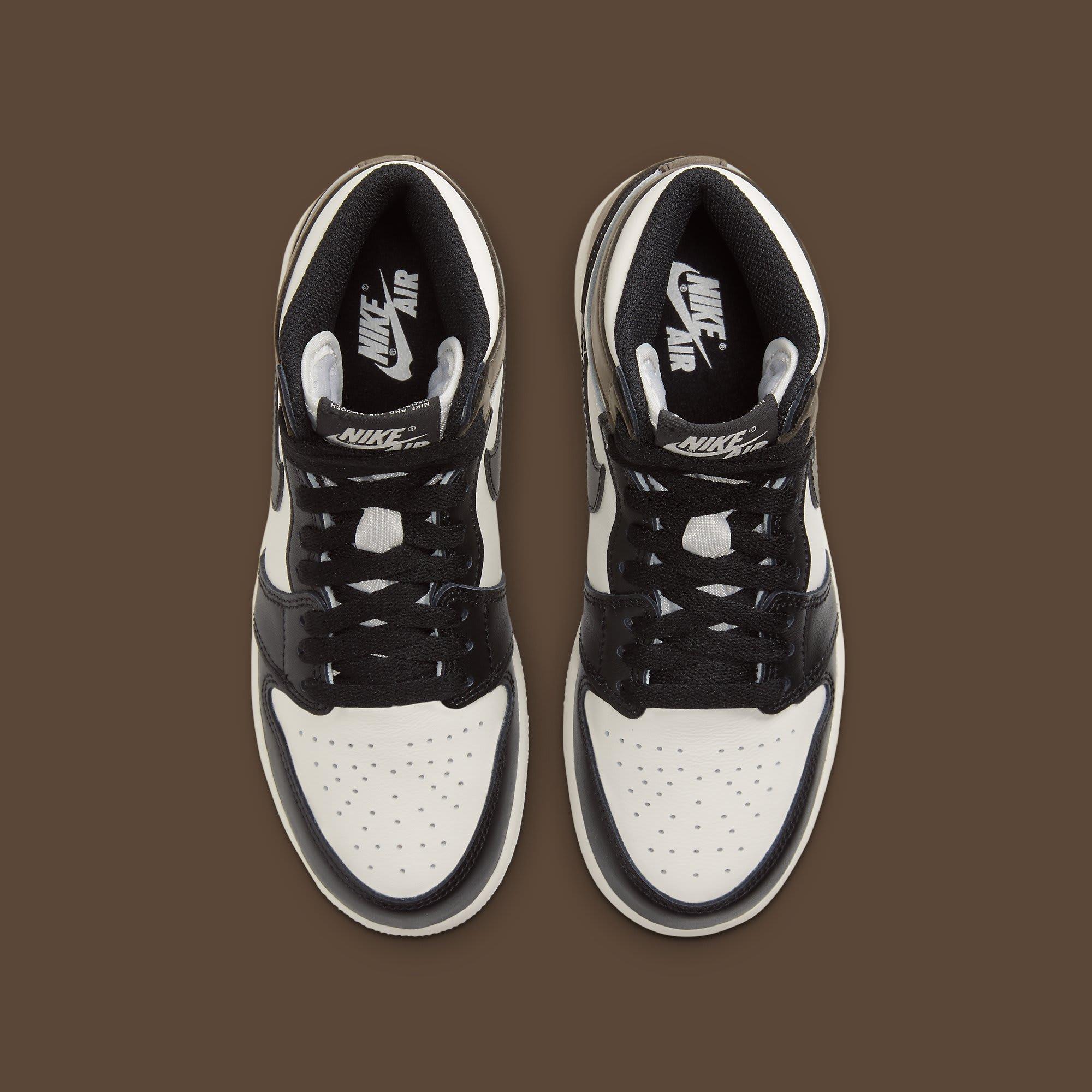 Air Jordan 1 Dark Mocha Release Date 555088-105 Top