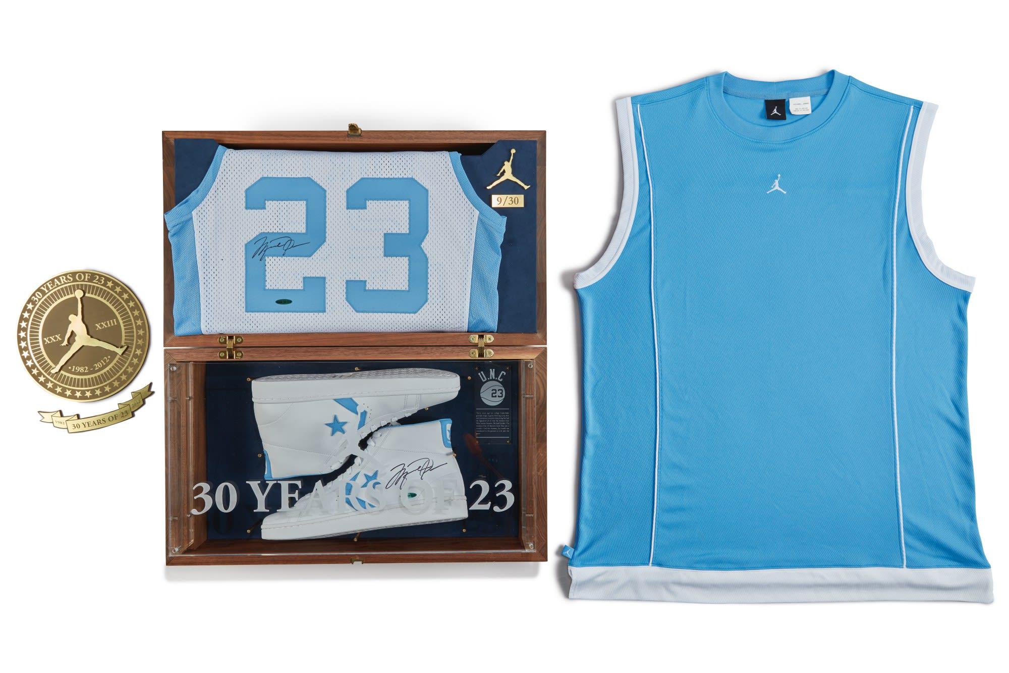 Jordan Brand x Converse 'UNC' Pack 2012 Sotheby's Auction