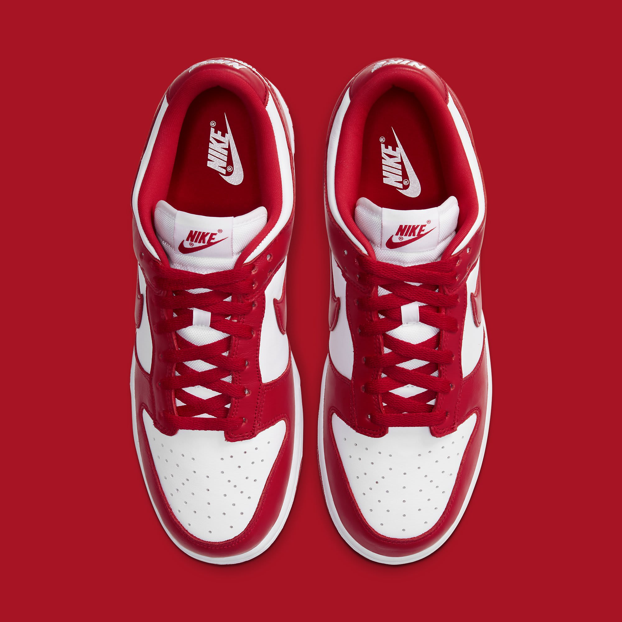 Nike Dunk Low University Red Release Date CU1727-100 Top