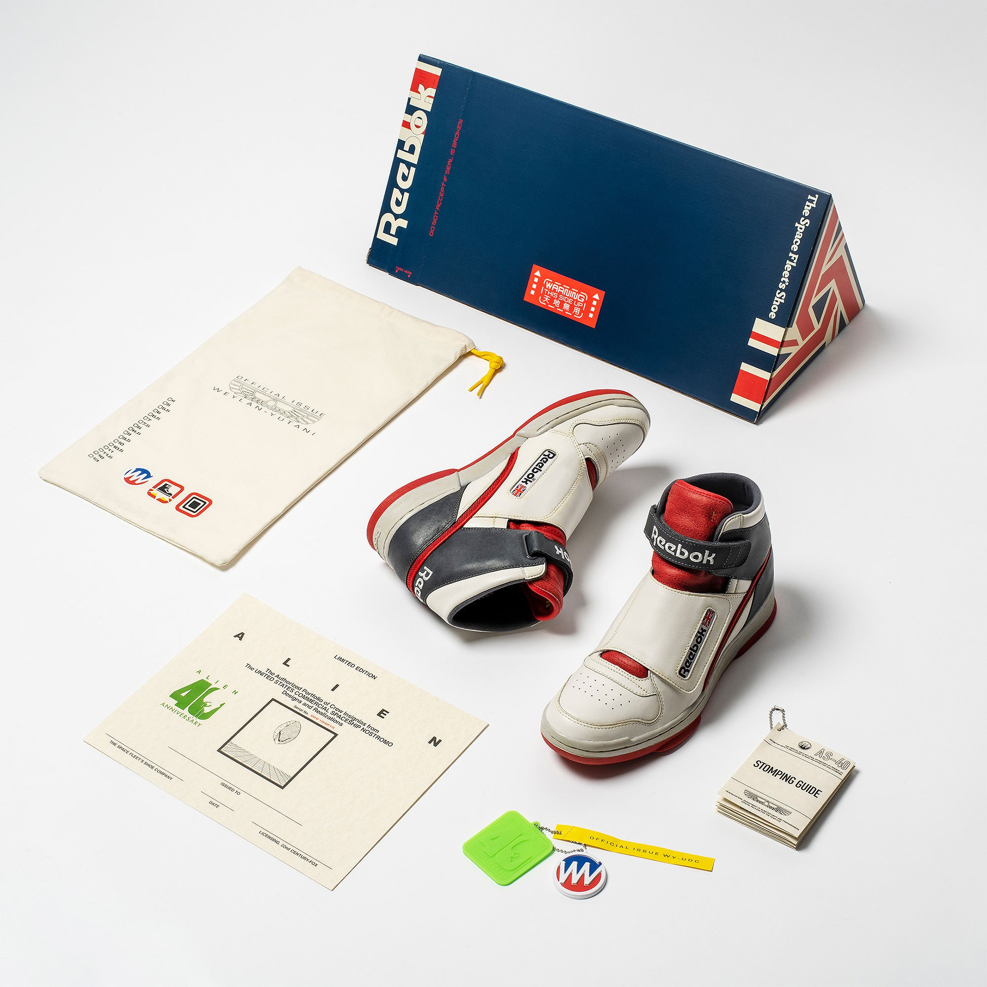 Reebok Alien Stomper Bishop Edition '40th Anniversary' DV8578 (Packaging)