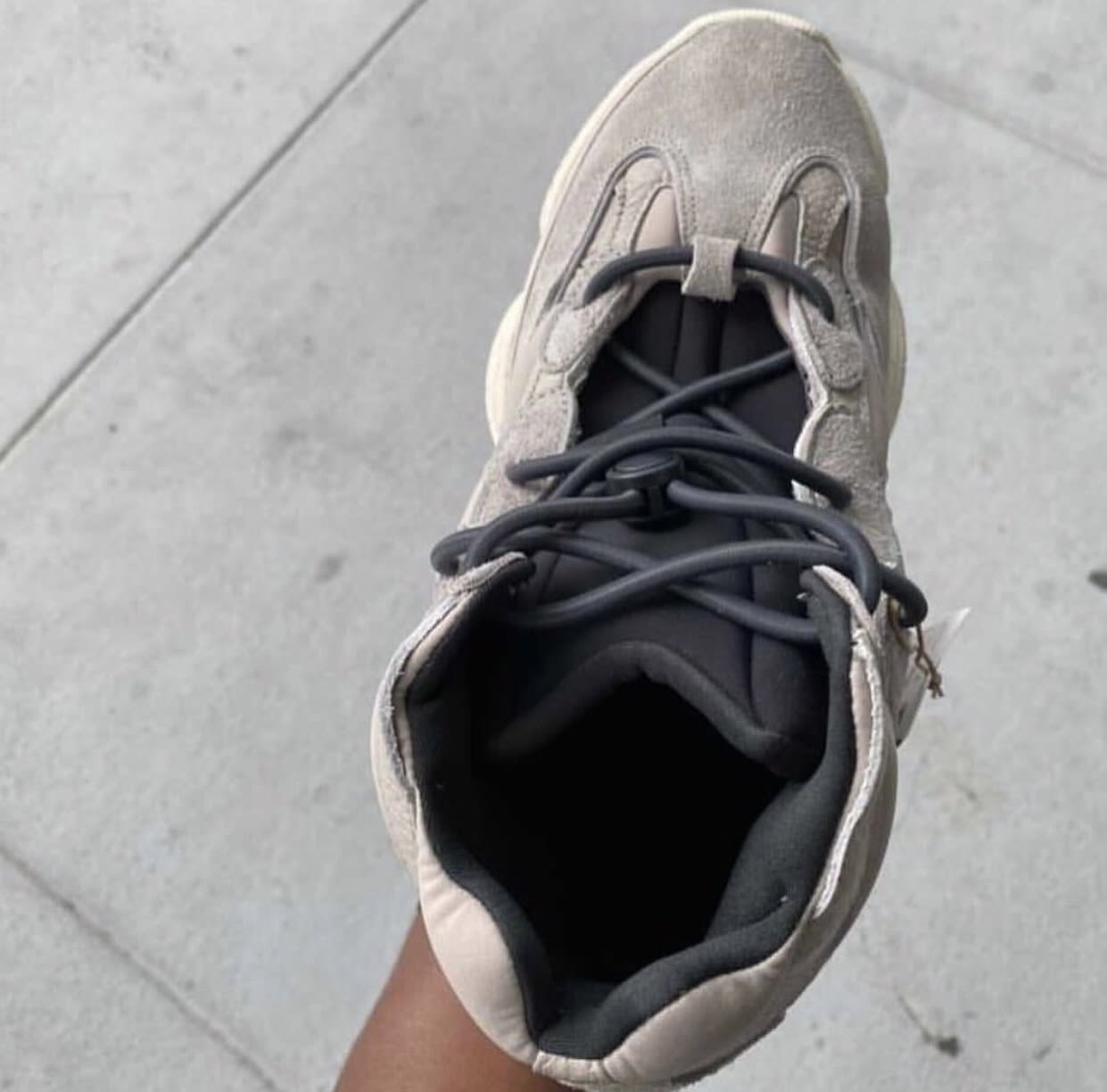 Adidas Yeezy 500 High Mist Stone Upper