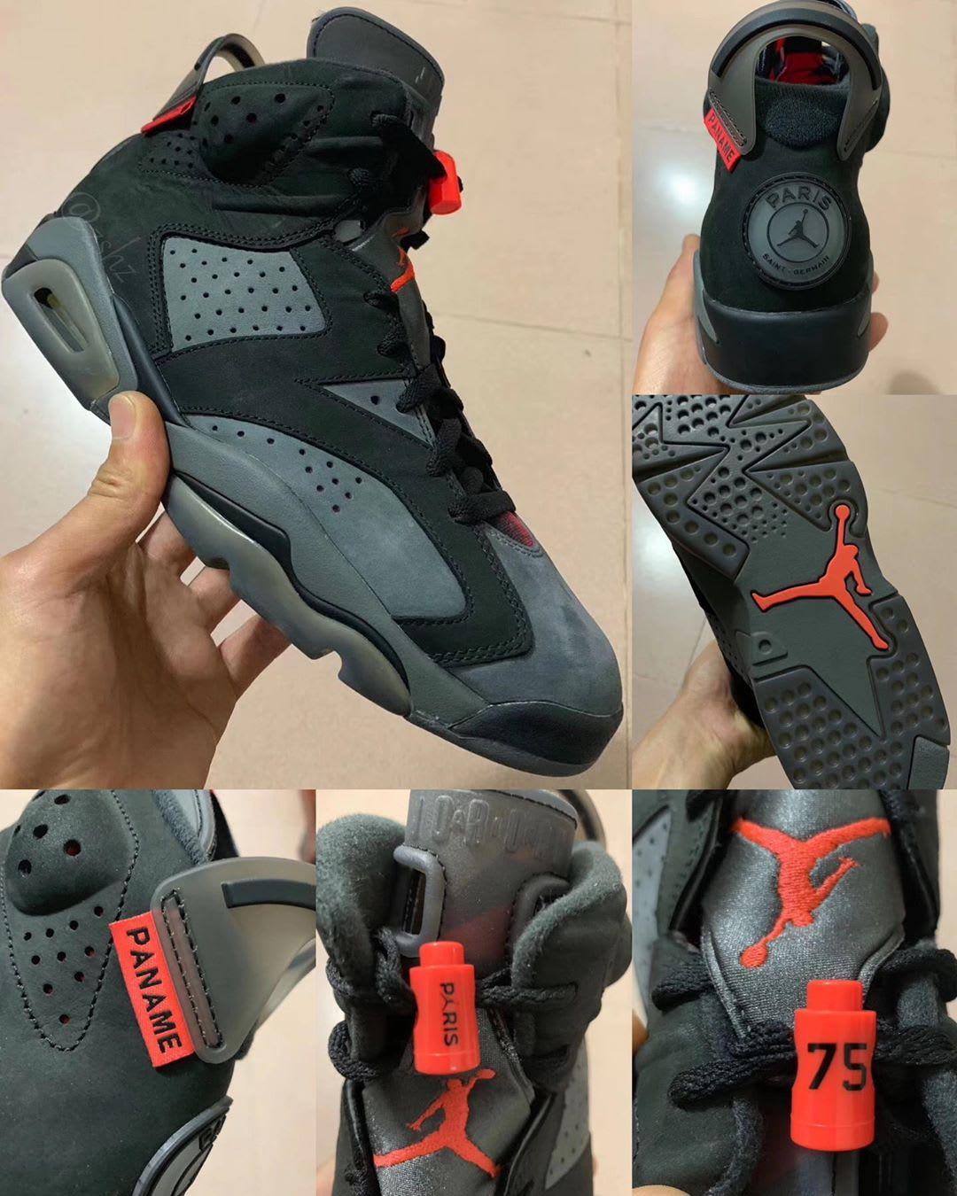 First Look at the 'PSG' Air Jordan 6