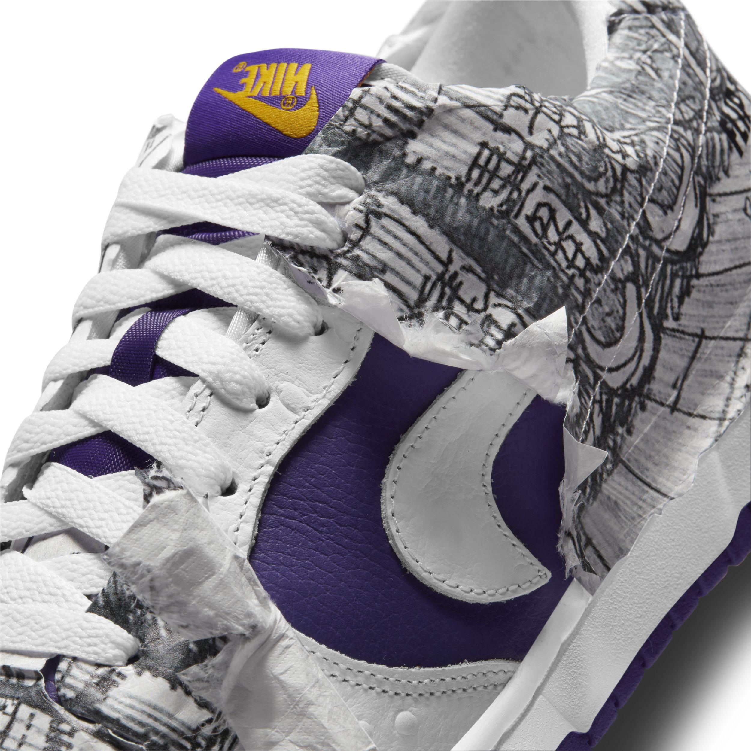 Nike Dunk Low 'Flip the Old School' Side